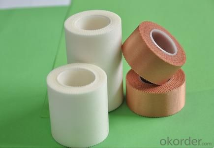 Non-woven medical adhesive tape with cutter,surgical tape