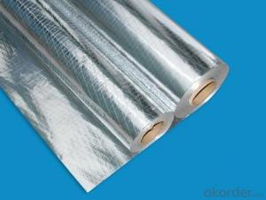 insulation flexible ducts bubble foil AL+LDPE mylar film for heat seal AL+PET