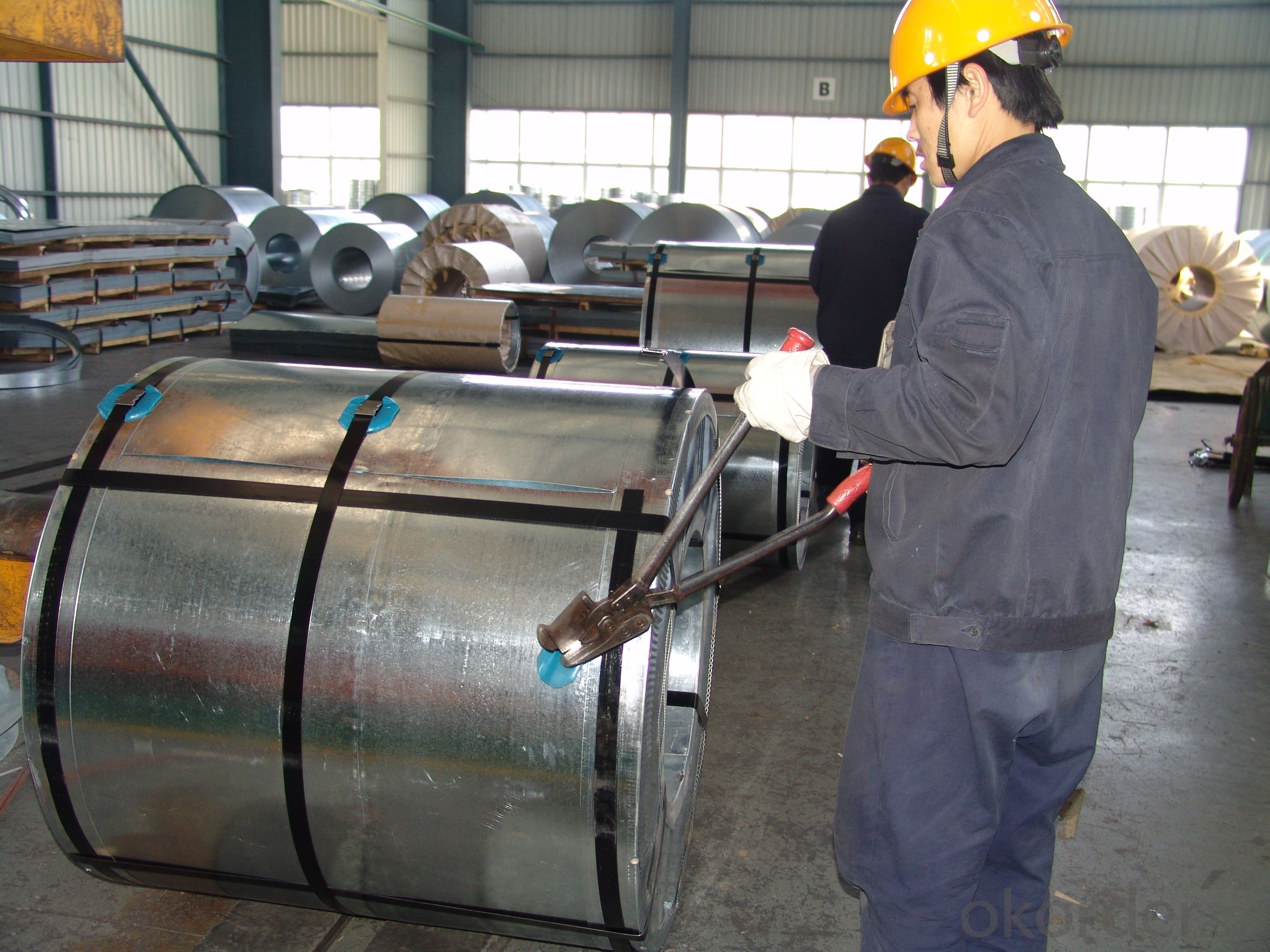 Galvanized Steel Coil-JIS G 3302 SGCC-0.5mm*1000mm