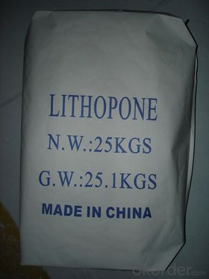 Lithopone 28% 30% for paints, coating, plastic, rubber,masterbatch use