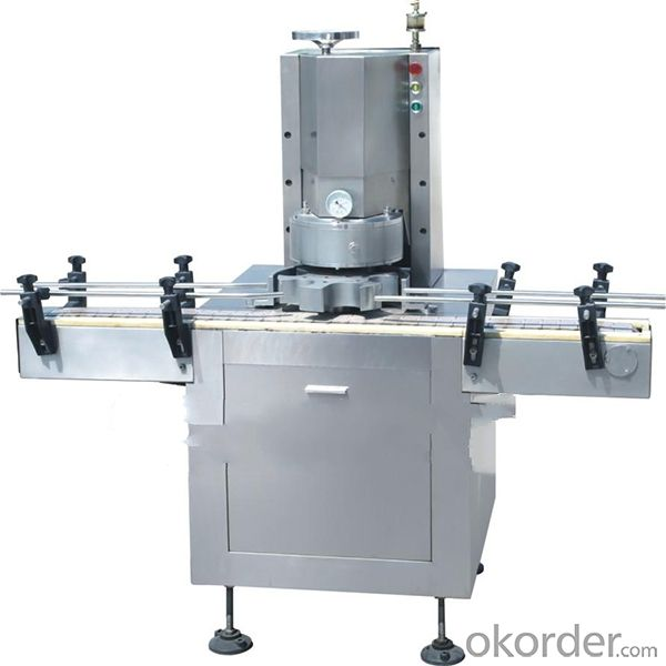 Glass Automatic Vacuum Capping Machines(YBZB-40P/YBZ-40P)