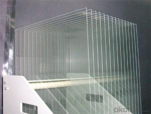 Self cleaning  ultra clear  tempered solar glass