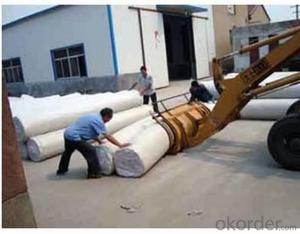 Excellent PP Woven Geotextile for Railway Construction