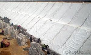 Filament Non-woven Geotextile for Dam Construction
