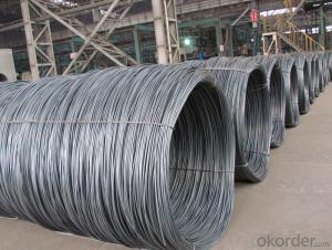 Hot Rolled Wire Rod In Coil Round SAE1008