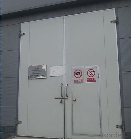 Cold storage room hinged doors/swing doors