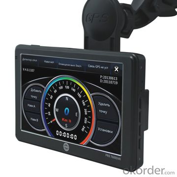 Hot sale 5 inch car DVR GPS Radar Detector car video recorder