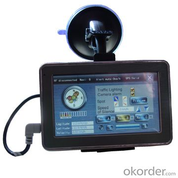 Radar Detector with 4.3 Inch GPS Navigator