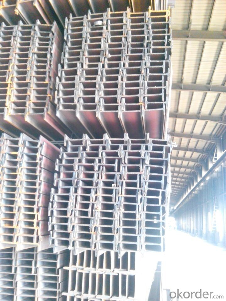 EN Standard Hot Rolled Steel I Beams IPE/IPEAA