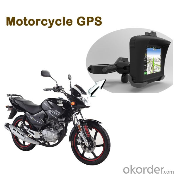 3.5 inch touch screen bluetooth waterproof gps for motorcycle or bicycle