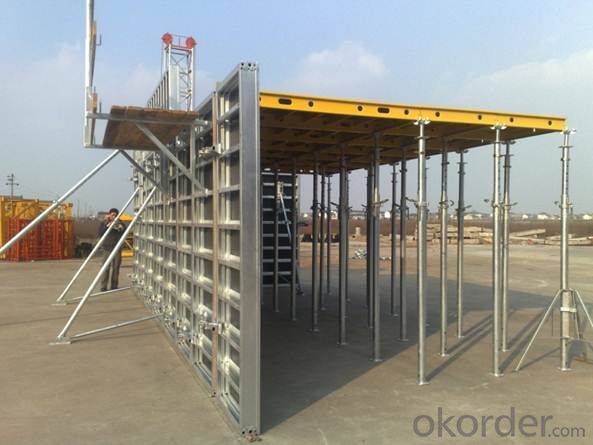 Aluminum-Frame Formworks for Building Constructions and Other