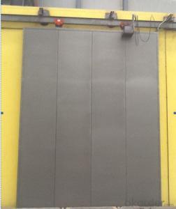 Chinese Aluminum frameless glass folding door