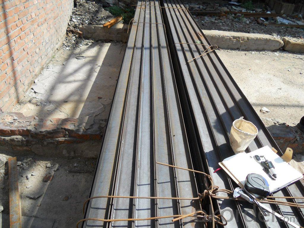 GB Standard Hot Rolled Steel I Beams Q235, Q345