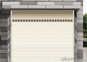 2014 New Designed Overhead Garage Door Made in China