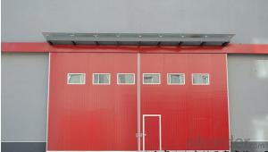 sectional industrial door/overhead factory doors