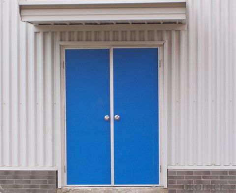 2014 Customized metal door for office with 32-year experience