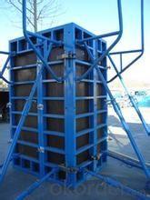 Steel Fram Formworks Used for Building Construction