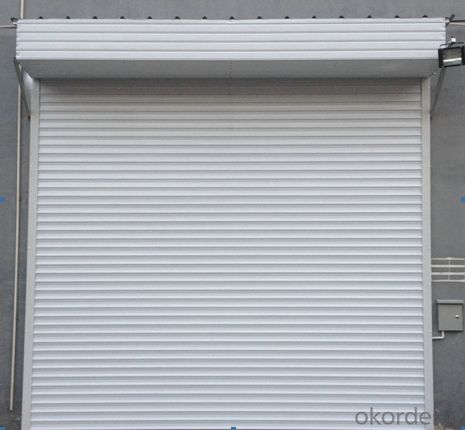 high performance door for industrial workshop