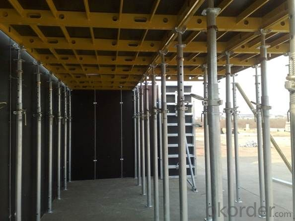 Aluminum-Frame Formwork for Building Construction