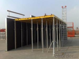 Aluminum-Frame Formwork for Building Constructions
