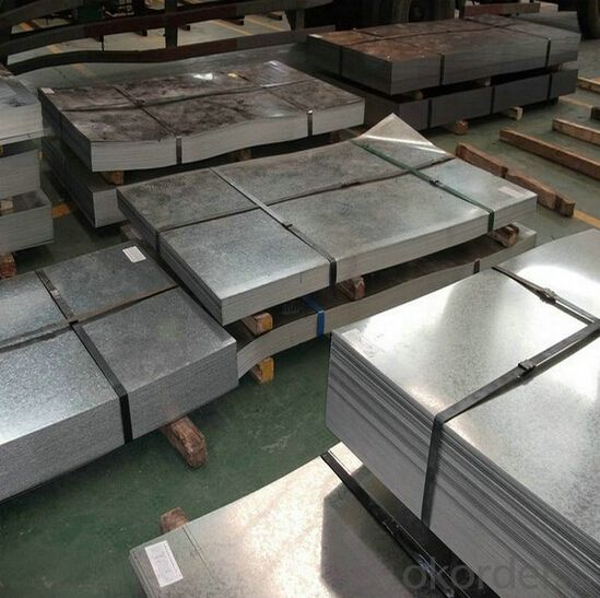 Galvanized Sheet / Galvanzied Iron Sheet With Price