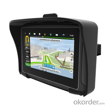 4.3 motorcycles gps navigation waterproof gps