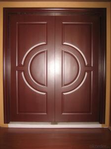 Wooden Interior Composite Doors for Decoration