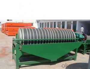 dry type ilmenite magnetic separator machine