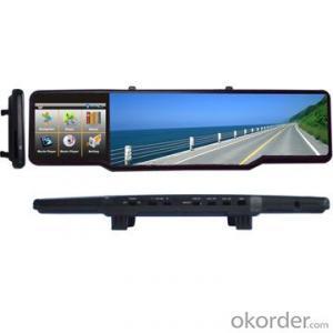 3.5 inch WinCE Net Rearview Mirror GPS Navigation