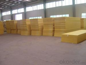 Unfaced Glass Wool Board For Building Heat Insulation