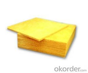 Glass Wool Board Bare For Building Heat Insulation