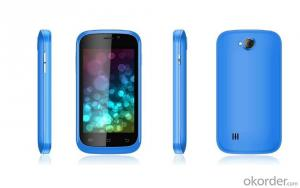 4.0 Inch Mini Cell Phone Mtk6572 Dual Core with Gesture Sensor, GPS