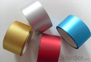 Air Condition Duct Film:44mm/50mm/60mm Aluminum Foil with Polyester