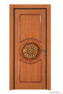Solid Composite Door for Interior Decoration