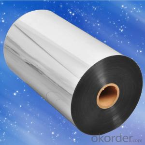 Clear Transparent PET-Aluminum foil – LDPE;used for laminating with EPE Foam