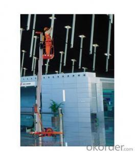 Mobile Aluminium Work Platform single mast (manual)