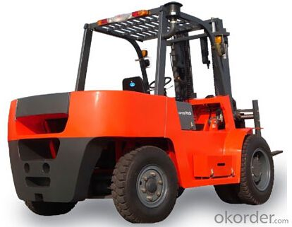 7T Stone loading special forklift-CPCD70S