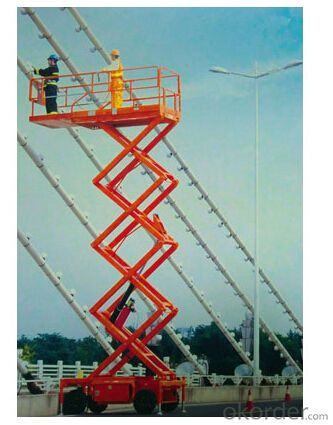 PRODUCT NAME:High quality Mobile Scissor Lifts--JCPT
