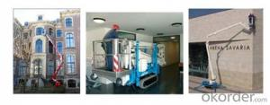 High quality Self-propelled aerial working platform PSS180A