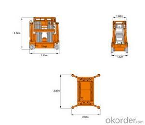 Mobile Aluminium Work Platform(six masts)