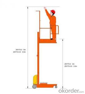 High quality Electric aerial reclaimer--ZDYT