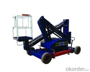 PRODUCT NAME:Articulating aerial working platform--GTZ0.16-8