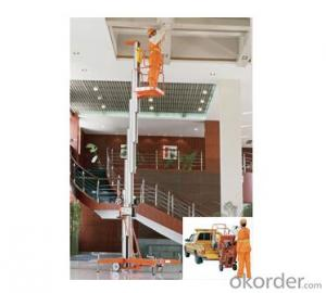 Mobile Aluminium Work Platform single mast (Light Duty)