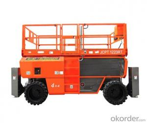 Self-Propelled Rough-Terrain Scissor lifts--JCPTRT