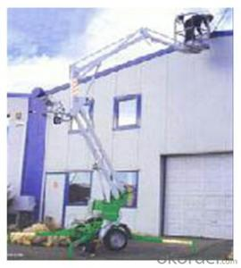 PRODUCT NAME:Trail-type aerial working platform PTS100