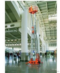 Mobile Aluminium Work Platform(six masts)-light duty