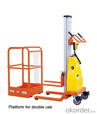 Mobile Aluminium Work Platform single mast GTWY series
