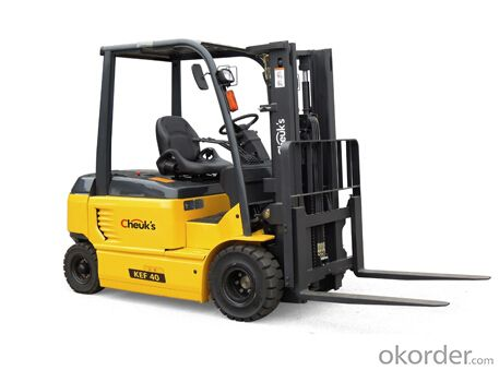 High quality 4 ton electric forklift truck KEF40