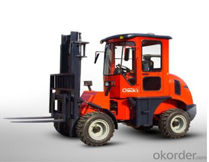 Four Drive Rough Terrain Forklift Truck CPC28RT
