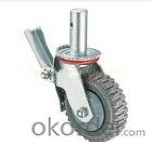 Scafold Gray Flame Heavy Duty Adjustable Caster